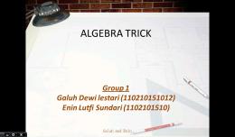eMath Trick